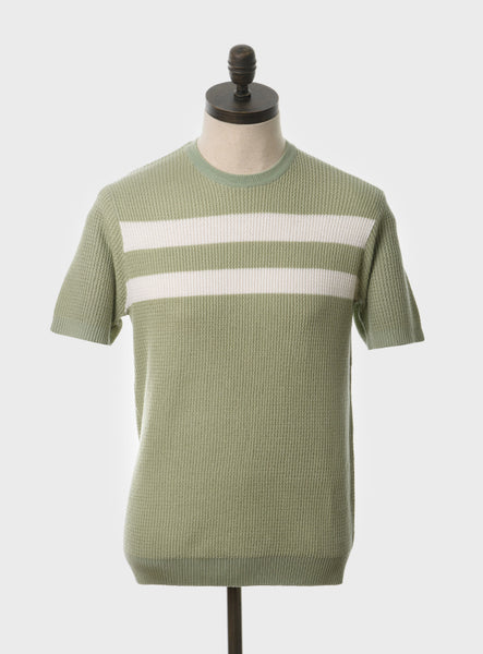 Goldhawk Spearmint Knit Shirt