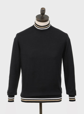 Haye Knitted Turtleneck Black