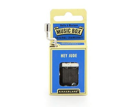 Beatles Hey Jude Crankhand Musical Box