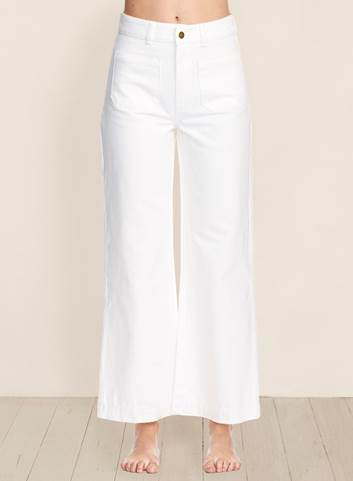 Sailor Jeans White Wash