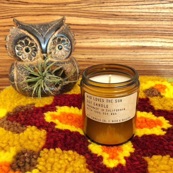 Who Loves the Sun Soy Candle