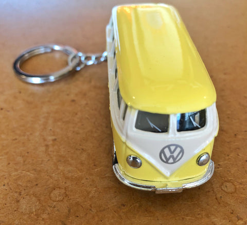 VW Mini Diecast Split Window Bus Keychain
