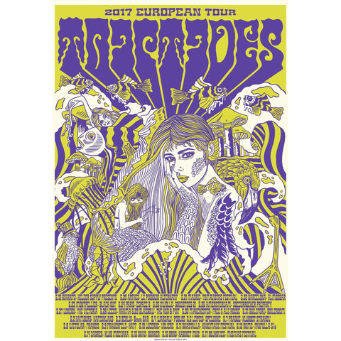 Triptides Screen Print Poster Art