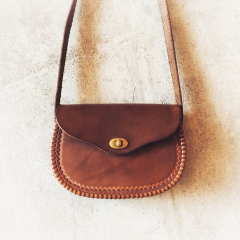 Ada Dark Brown Leather Purse