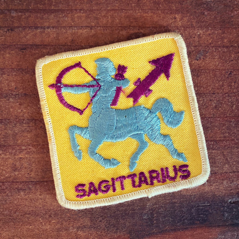 Sagittarius Vintage Patch