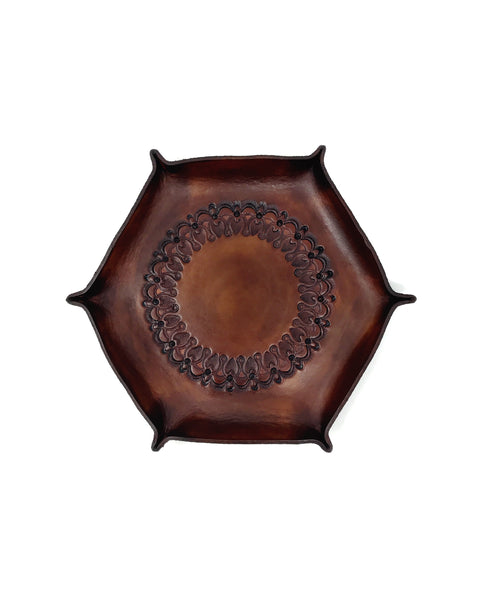Brown Leather Catchall