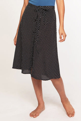 Tie Skirt in Dot