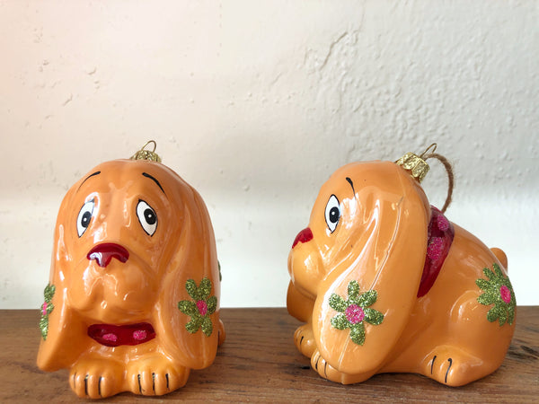 Retro Dog Ornament