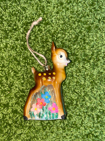 Kitsch Deer Ornament