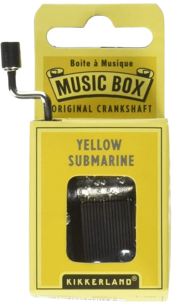 Beatles Yellow Submarine Crankhand Musical Box