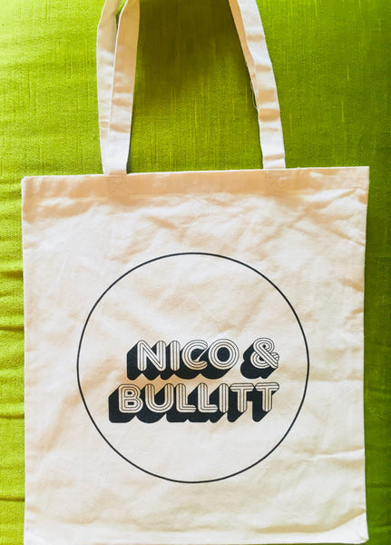 NICO & BULLITT Canvas Tote Bag