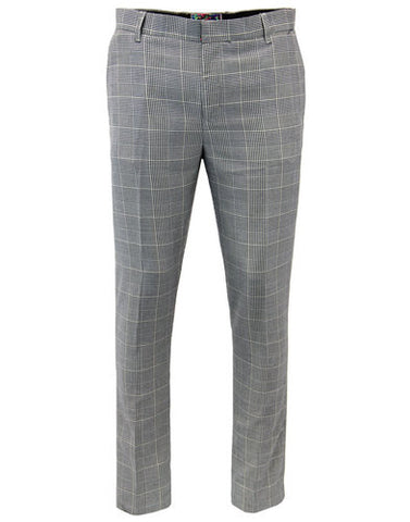Jagger Drainpipe Grey Trousers