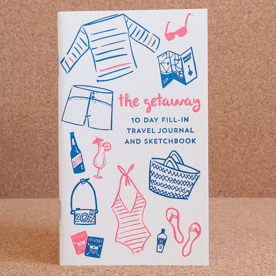 The Getaway 10 Day Fill-in Travel Journal