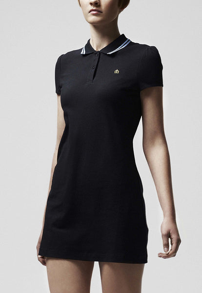 Kara Polo Dress Black