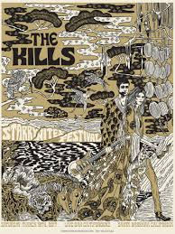 The Kills Screen Print Framed Art
