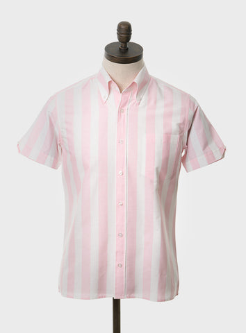 King Pink Stripe Shirt