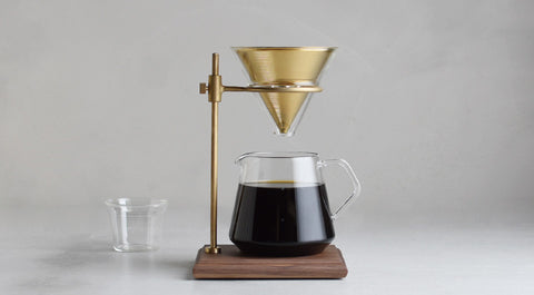 Slow Coffee Style Brewer Stand Set 4 Cups