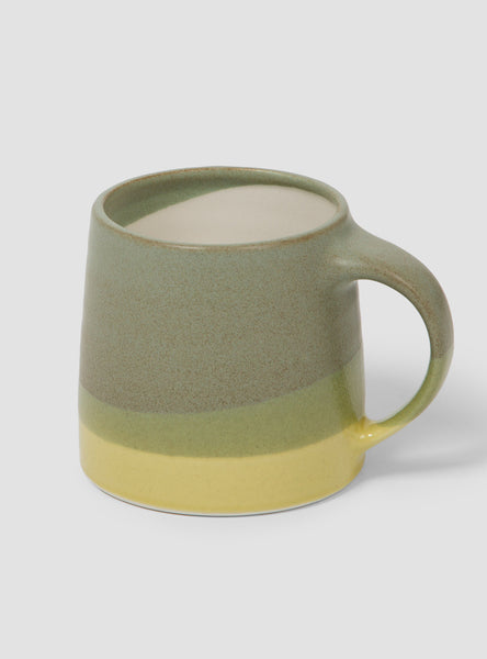 Mug Moss Green & Yellow 320ml