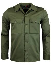 Lennon Military Jacket Olive