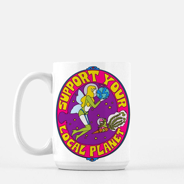 Support Your Local Planet Mug