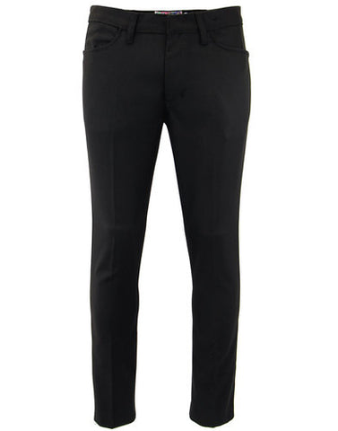 Logan Slim Trousers Black