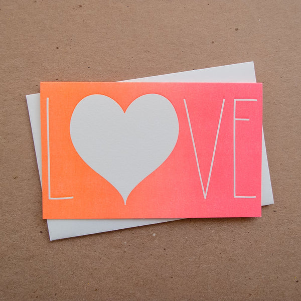 Ombre Love Card
