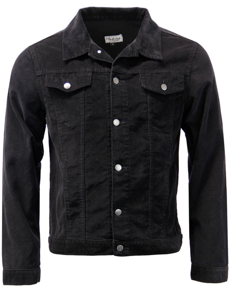 Woburn Cord Jacket Black