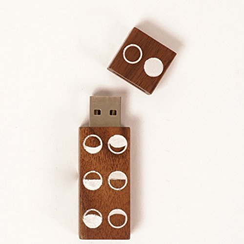 Moon Phase Pattern Echo Flash Drive