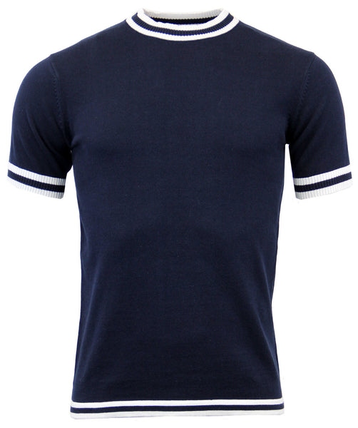Moon Jumper Shirt Navy