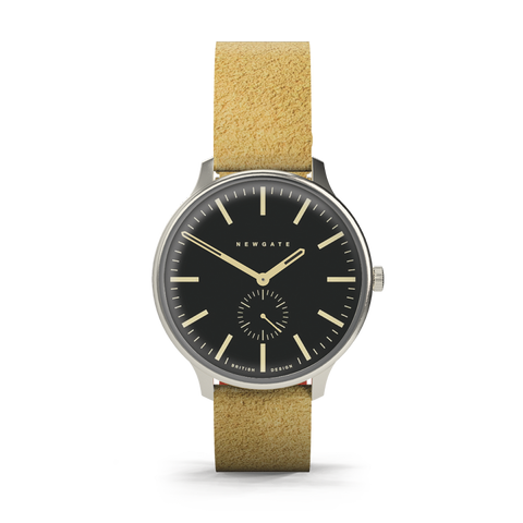 BLIP Watch Reverse Dial Suede Strap