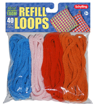 Loop Refill For Metal Potholder Loom