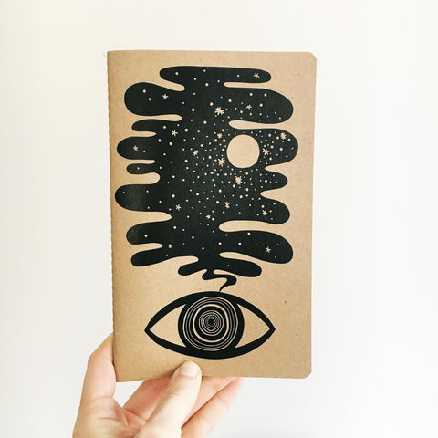 Eye Dream Notebook Ruled