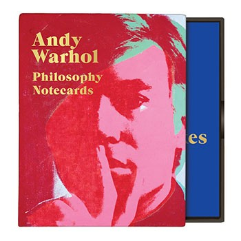 Warhol Philosophy Greeting Notecards