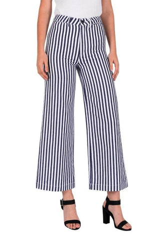 Old Mate Pant Navy Stripe