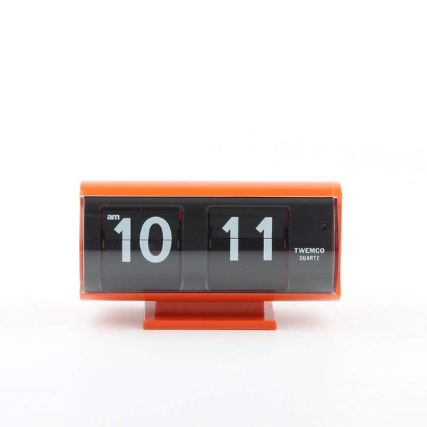 Retro Flip Clock Orange