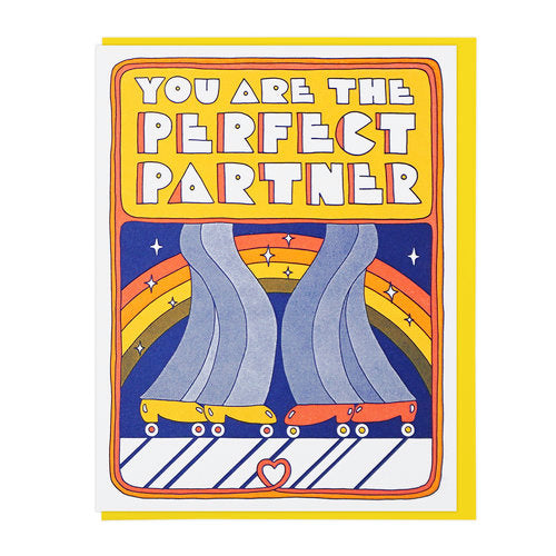 You Are The Perfect Partner Greeting Card