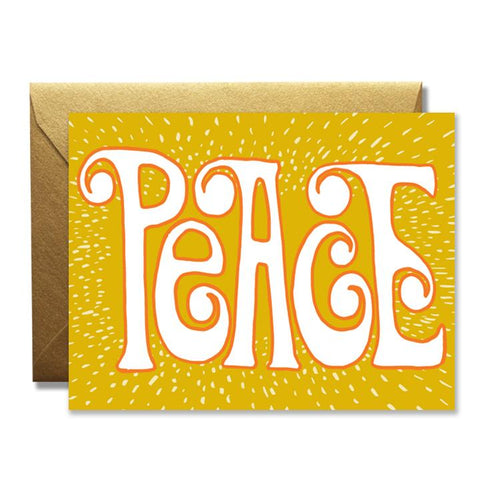 Golden Peace Card