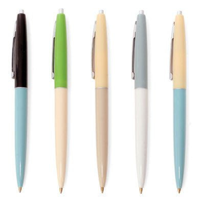Retro Pens Set of 5