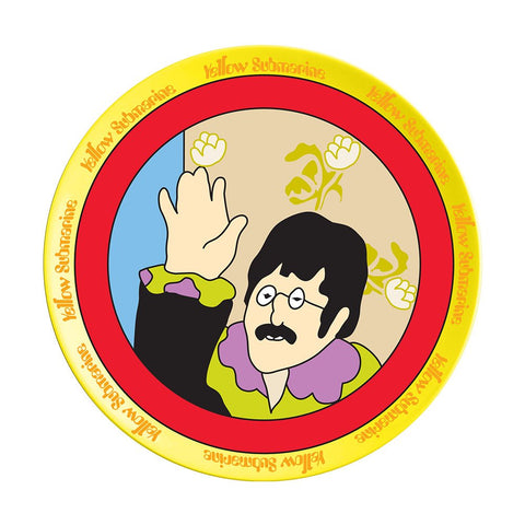 The Beatles Yellow Submarine 4-Piece Ceramic Plate Set