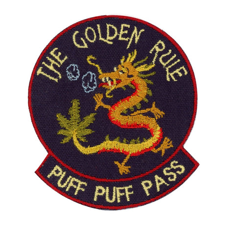 Puff Puff Pass Dragon Patch