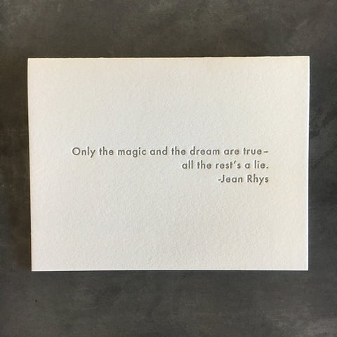 Jean Rhys Quote Card