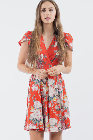 Dancer Wrap Dress Rococco