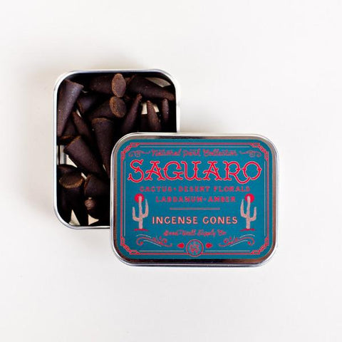 Saguaro Incense Cones