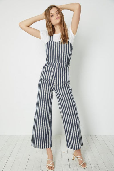 Sailor Jumpsuit Salty Stripe Navy/White