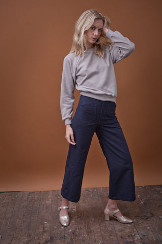 Sandi Pant Navy Canvas