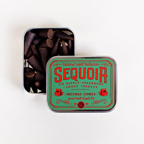 Sequoia Incense Cones