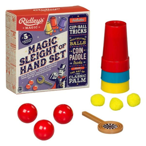 Magic Sleight of Hand, Set of 5 Tricks