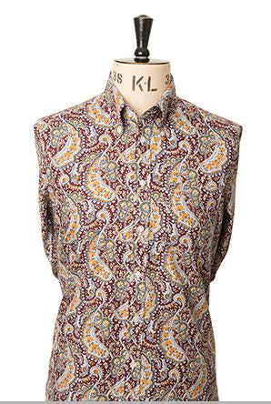 Spencer Paisley L/S Wine