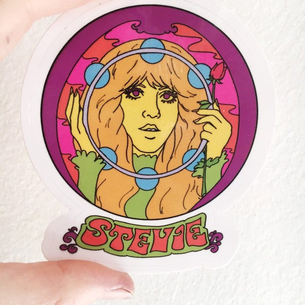 Stevie Sticker 3""