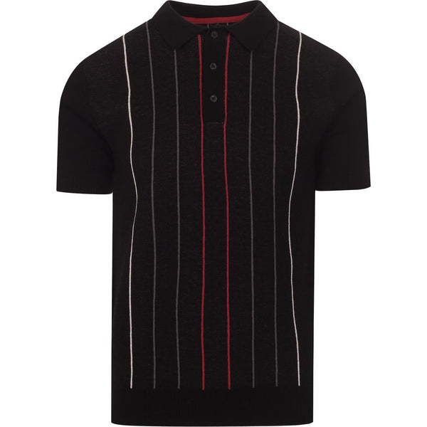 Stirling Pin Stripe Polo Shirt S/S